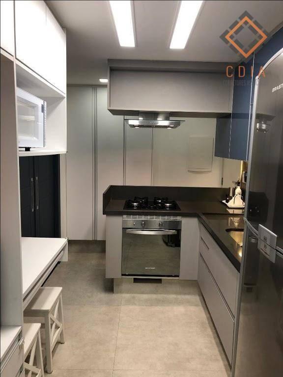 apartamento com 3 dormitórios à venda, 100 m² por r$ 1.060.000,00 - brooklin paulista - são paulo/sp - ap44228