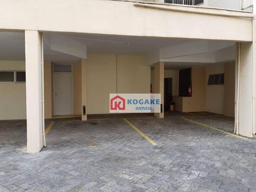 apartamento com 3 dormitórios à venda, 100 m² por r$ 430.000,00 - vila adyana - são josé dos campos/sp - ap6664