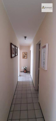 apartamento com 3 dormitórios à venda, 100 m² por r$ 450.000 - encruzilhada - recife/pe - ap0451