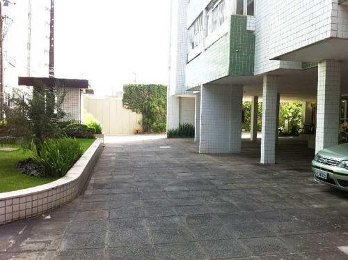 apartamento com 3 dormitórios à venda, 100 m² por r$ 540.000 - torre - recife/pe - ap3244
