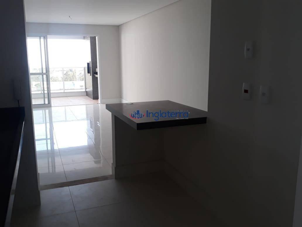 apartamento com 3 dormitórios à venda, 100 m² por r$ 589.000,00 - gleba palhano - londrina/pr - ap0598