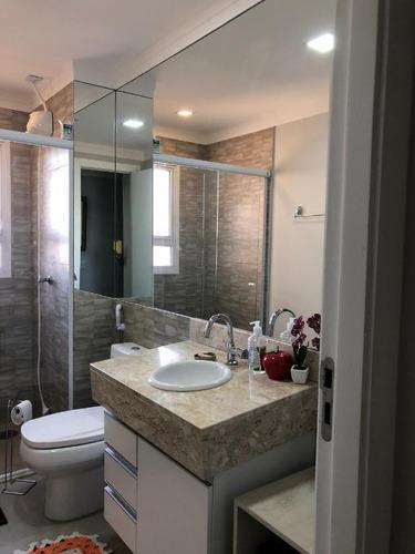 apartamento com 3 dormitórios à venda, 100 m² por r$ 700.000 - jardim urano - são josé do rio preto/sp - ap4564