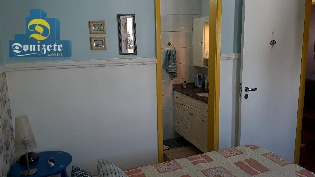 apartamento com 3 dormitórios à venda, 102 m² por r$ 490.000,00 - vila gilda - santo andré/sp - ap8187