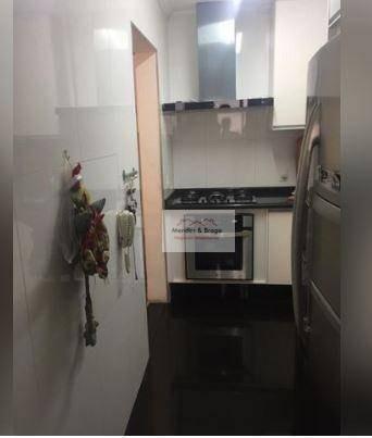 apartamento com 3 dormitórios à venda, 103 m² por r$ 660.000,00 - centro - guarulhos/sp - ap1998