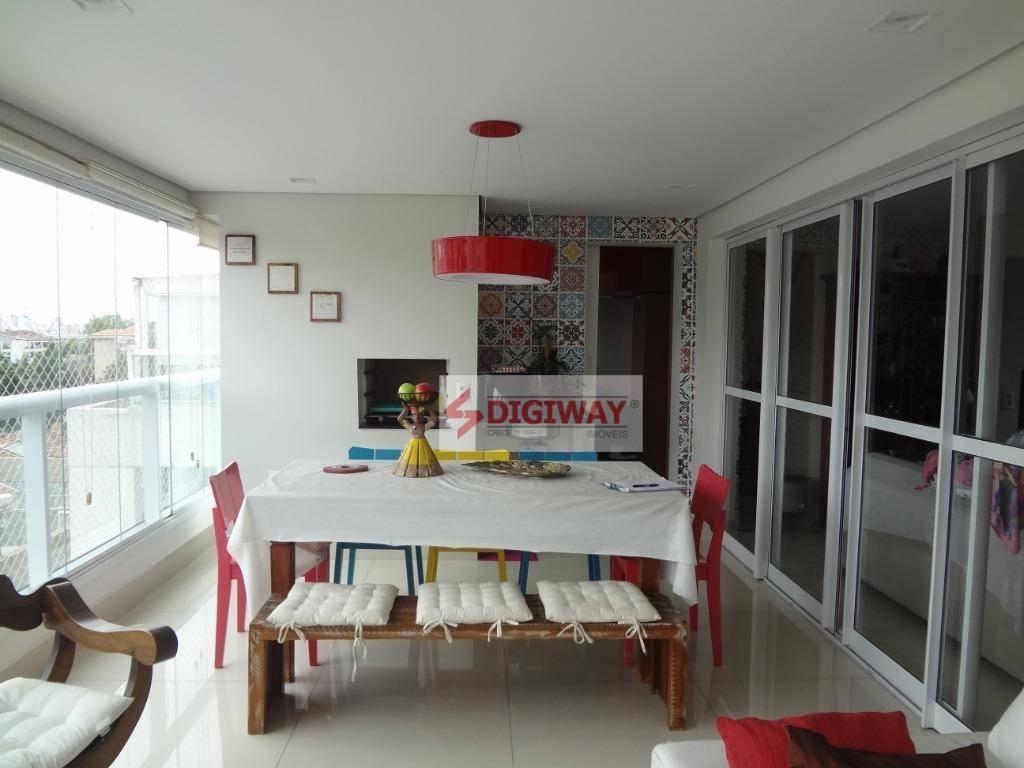apartamento com 3 dormitórios à venda, 104 m² por r$ 1.000.000,00 - aclimação - são paulo/sp - ap1572