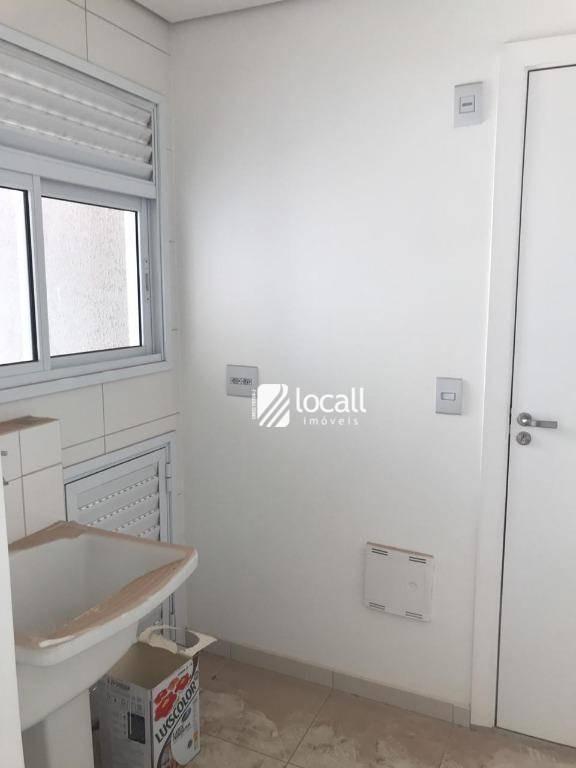 apartamento com 3 dormitórios à venda, 104 m² por r$ 620.000 - jardim urano - são josé do rio preto/sp - ap1632