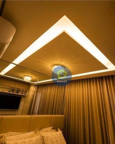 apartamento com 3 dormitórios à venda, 104 m² por r$ 760.000 - jardim urano - são josé do rio preto/sp - ap7390