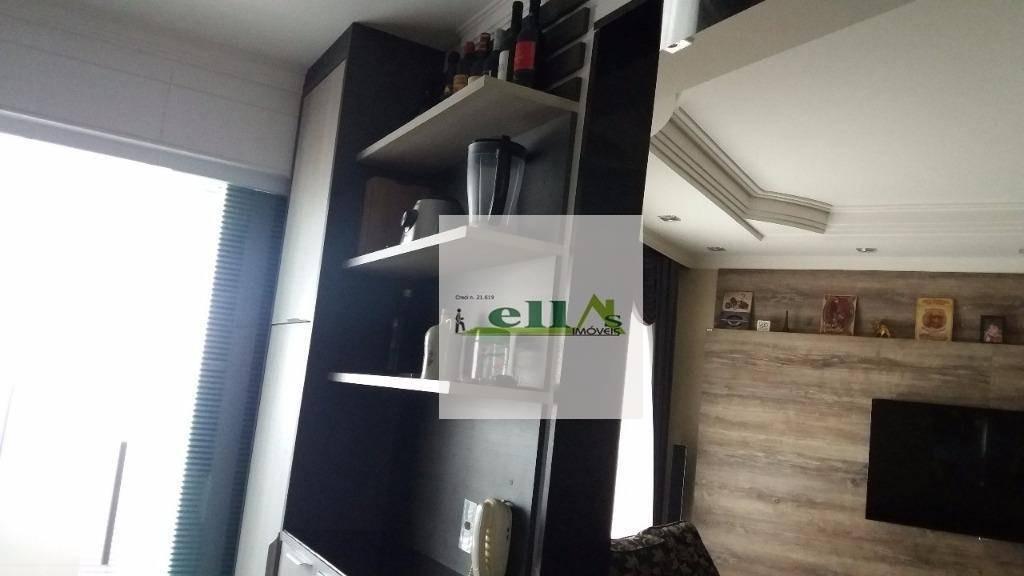 apartamento com 3 dormitórios à venda, 104 m² por r$ 760.000 - vila quitaúna - osasco/sp - ap1067