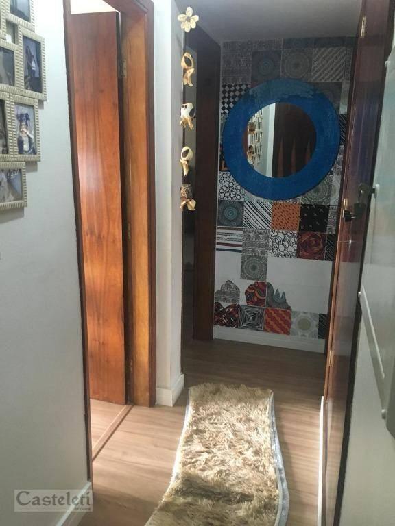 apartamento com 3 dormitórios à venda, 105 m² por r$ 520.000 - jardim proença - campinas/sp - ap6648