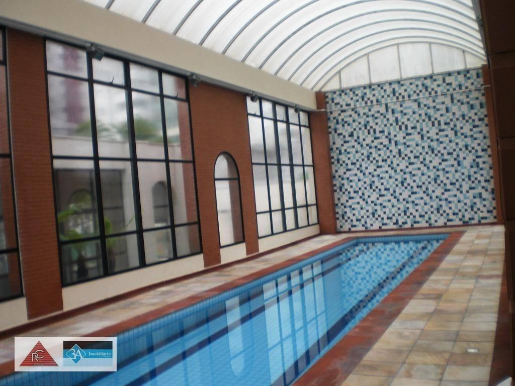 apartamento com 3 dormitórios à venda, 105 m² por r$ 950.000 - jardim anália franco - são paulo/sp - ap5491