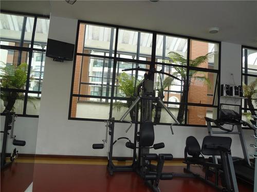 apartamento com 3 dormitórios à venda, 105 m² por r$ 995.000 - jardim anália franco - são paulo/sp - ap5492