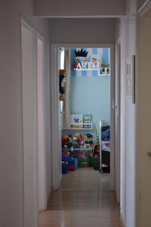 apartamento com 3 dormitórios à venda, 106 m² por r$ 385.000 - bonfim - campinas/sp - ap15803