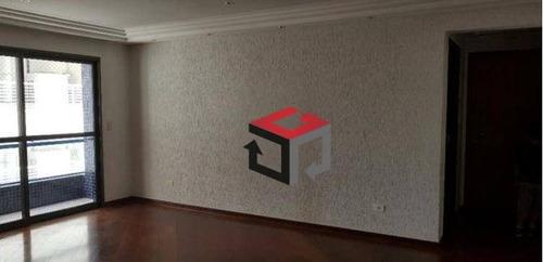apartamento com 3 dormitórios à venda, 106 m² por r$ 490.000 - barcelona - são caetano do sul/sp - ap62013