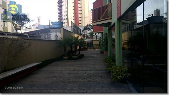 apartamento com 3 dormitórios à venda, 106 m² por r$ 530.000,00 - vila assunção - santo andré/sp - ap3632