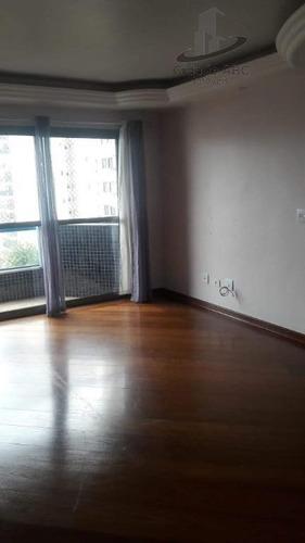 apartamento com 3 dormitórios à venda, 107 m² por r$ 522.000 - barcelona - são caetano do sul/sp - ap1192