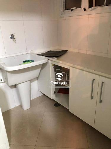 apartamento com 3 dormitórios à venda, 107 m² por r$ 750.000,00 - barcelona - são caetano do sul/sp - ap12240
