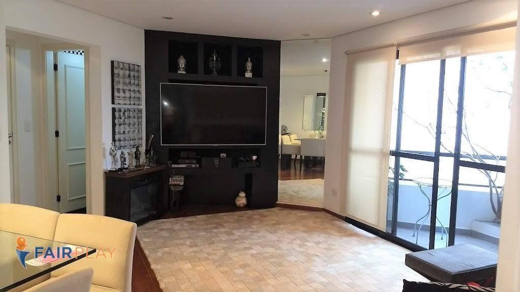apartamento com 3 dormitórios à venda, 107 m² por r$ 950.000,00 - campo belo - são paulo/sp - ap4919
