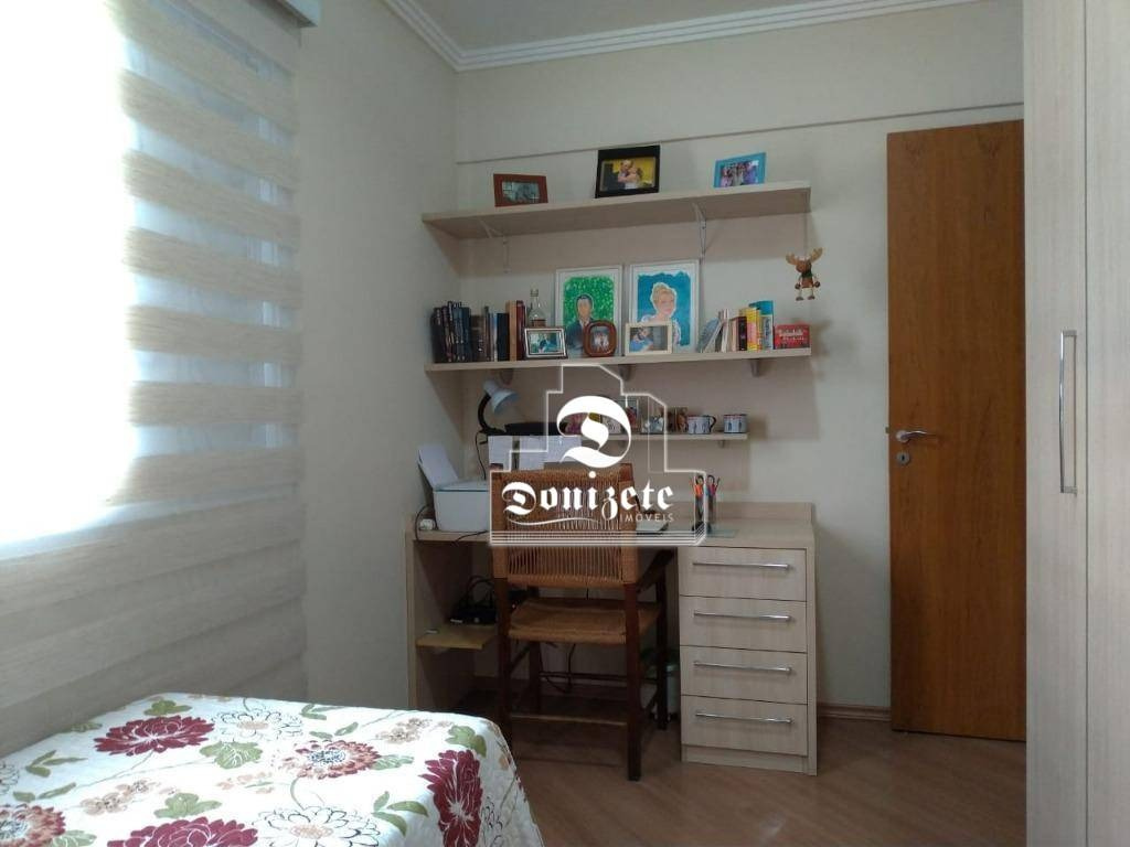 apartamento com 3 dormitórios à venda, 108 m² por r$ 629.000,00 - campestre - santo andré/sp - ap0728