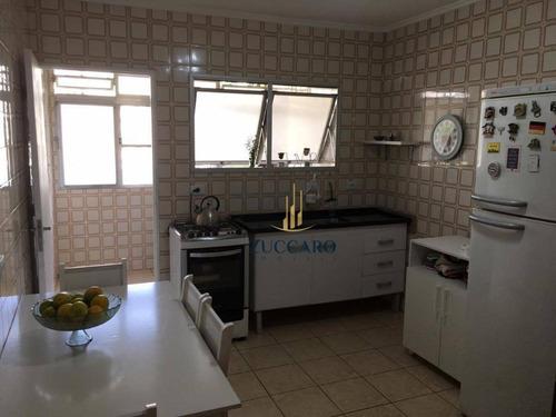 apartamento com 3 dormitórios à venda, 109 m² por r$ 330.000 - macedo - guarulhos/sp - ap13941