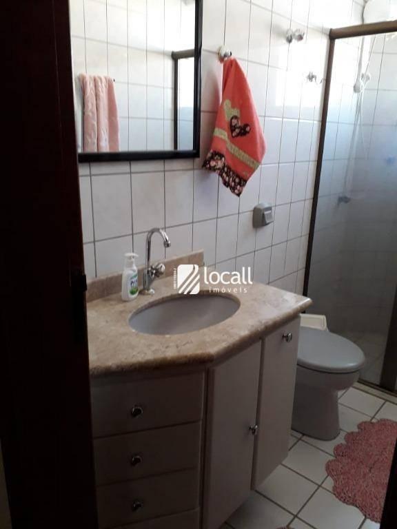 apartamento com 3 dormitórios à venda, 109 m² por r$ 380.000 - higienópolis - são josé do rio preto/sp - ap1850