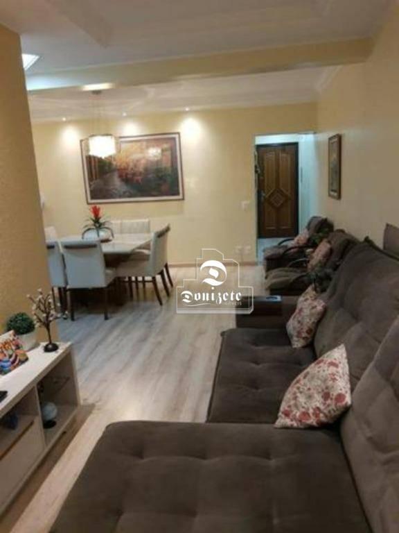apartamento com 3 dormitórios à venda, 109 m² por r$ 525.000,00 - vila assunção - santo andré/sp - ap12884