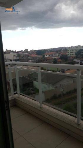 apartamento com 3 dormitórios à venda, 109 m² por r$ 580.000,00 - jundiaí - anápolis/go - ap0271
