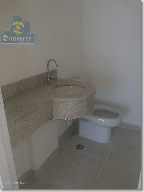 apartamento com 3 dormitórios à venda, 109 m² por r$ 959.000,00 - jardim bela vista - santo andré/sp - ap4114