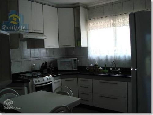 apartamento com 3 dormitórios à venda, 110 m² por r$ 464.900,00 - vila bastos - santo andré/sp - ap4593