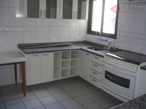 apartamento com 3 dormitórios à venda, 110 m² por r$ 545.000 - nova petrópolis - são bernardo do campo/sp - ap1735