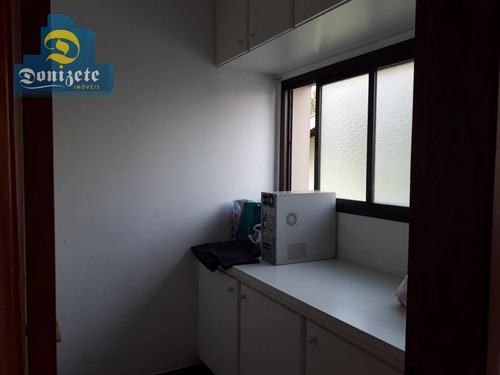 apartamento com 3 dormitórios à venda, 110 m² por r$ 550.000,00 - centro - santo andré/sp - ap9377