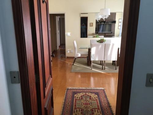 apartamento com 3 dormitórios à venda, 110 m² por r$ 610.000 - centro - sorocaba/sp - ap7156