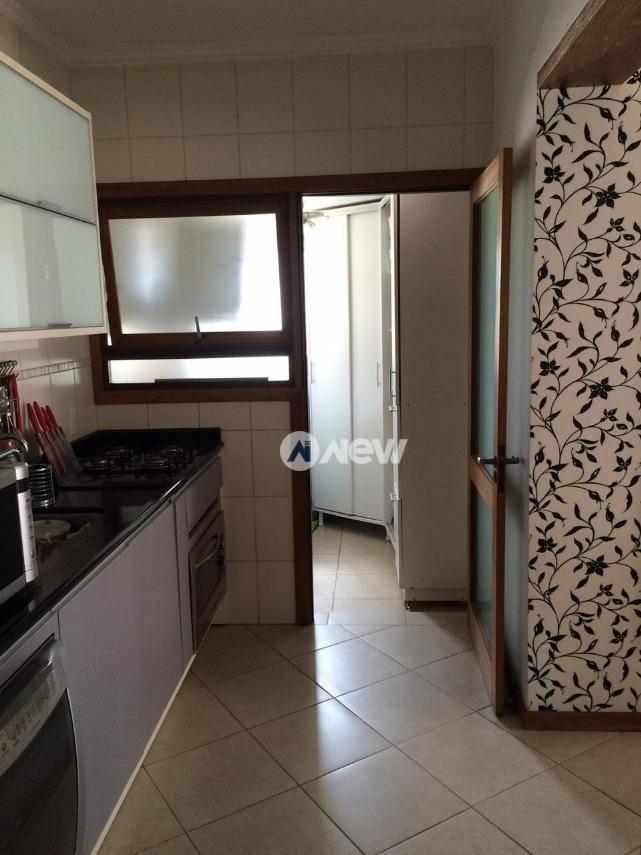 apartamento com 3 dormitórios à venda, 111 m² por r$ 650.000,00 - centro/ p. nova - novo hamburgo/rs - ap1606