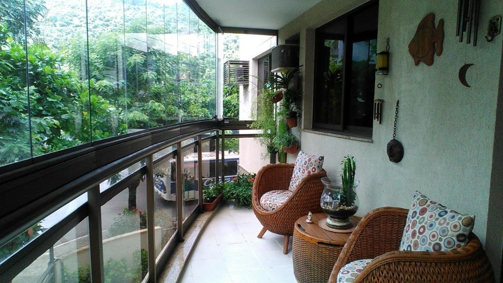apartamento com 3 dormitórios à venda, 113 m² por r$ 850.000 - são francisco - niterói/rj - ap1997