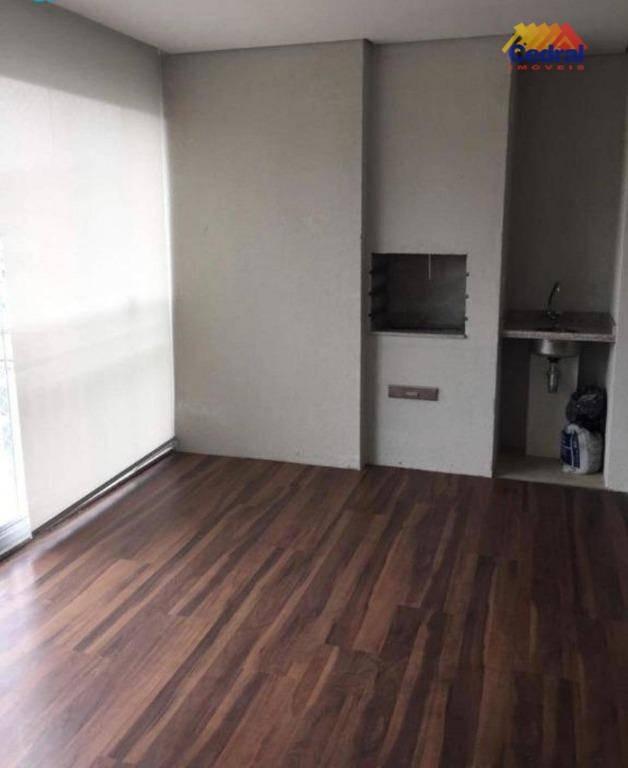 apartamento com 3 dormitórios à venda, 114 m² por r$ 660.000,00 - vila suissa - mogi das cruzes/sp - ap0773