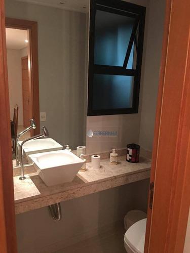 apartamento com 3 dormitórios à venda, 114 m² por r$ 750.000 - vila adyana - são josé dos campos/sp - ap3430