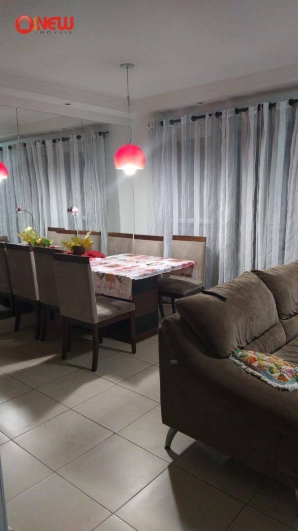 apartamento com 3 dormitórios à venda, 114 m² por r$ 750.000,00 - jardim zaira - guarulhos/sp - ap1835