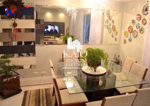 apartamento com 3 dormitórios à venda, 114m² ,jardim zaira