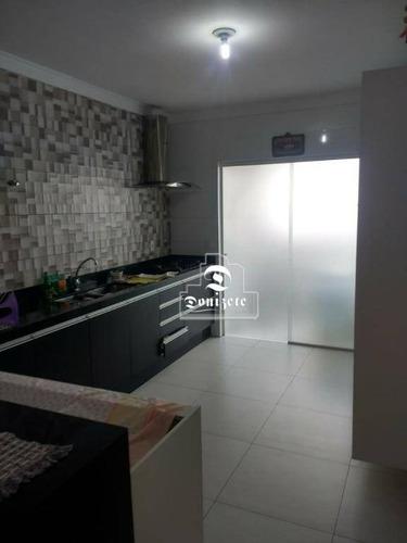 apartamento com 3 dormitórios à venda, 116 m² por r$ 590.000,00 - vila bastos - santo andré/sp - ap12032