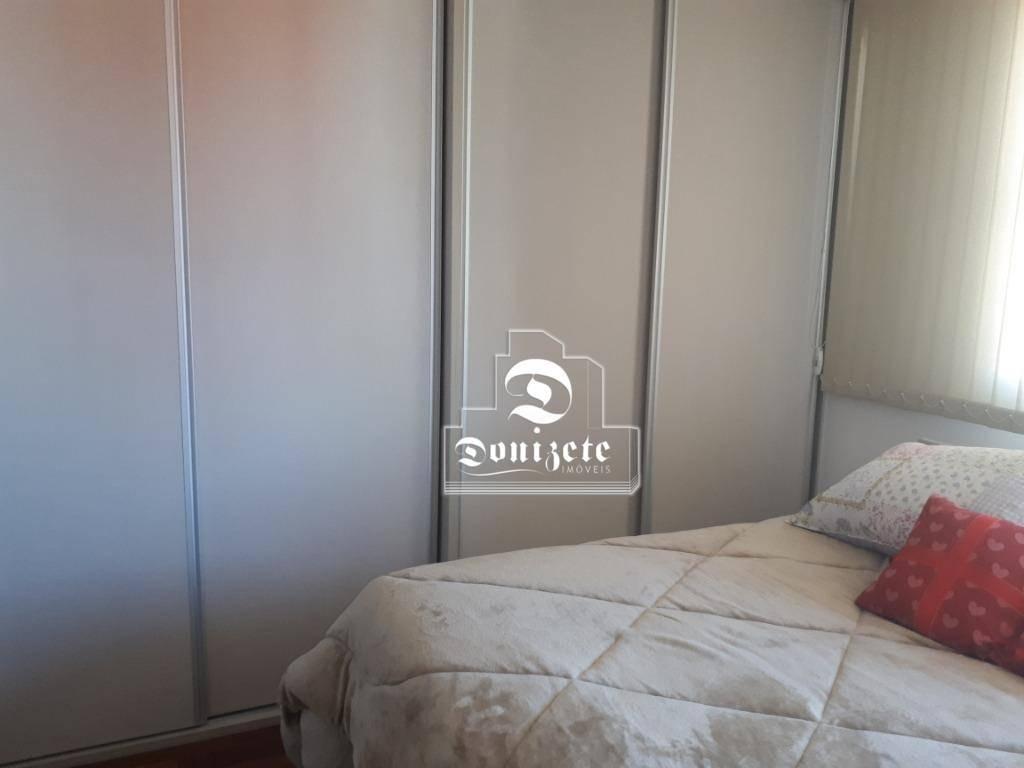apartamento com 3 dormitórios à venda, 116 m² por r$ 900.000,00 - jardim - santo andré/sp - ap12066