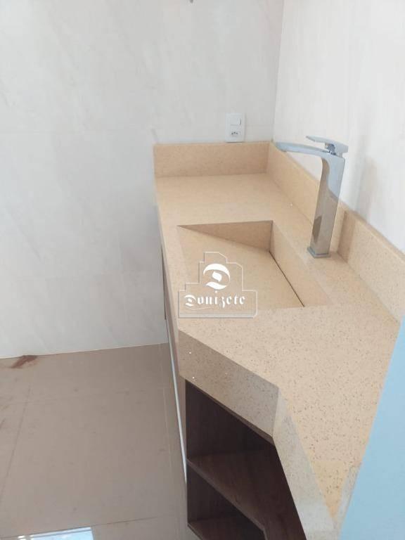 apartamento com 3 dormitórios à venda, 117 m² por r$ 449.000,00 - centro - santo andré/sp - ap13891