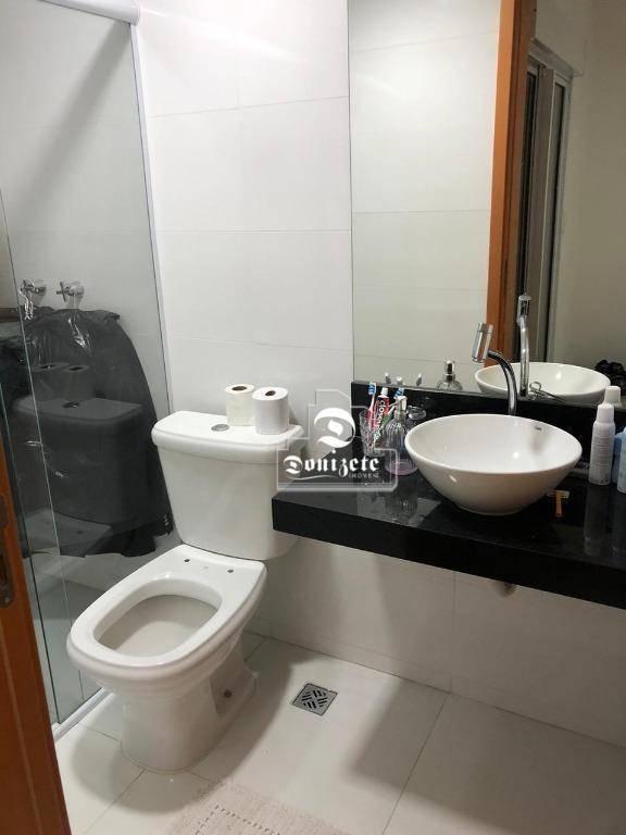 apartamento com 3 dormitórios à venda, 118 m² por r$ 650.000,00 - vila valparaíso - santo andré/sp - ap13876