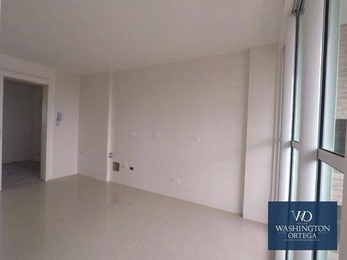 apartamento com 3 dormitórios à venda, 119 m² por r$ 670.000,00 - centro - são josé dos pinhais/pr - ap0097
