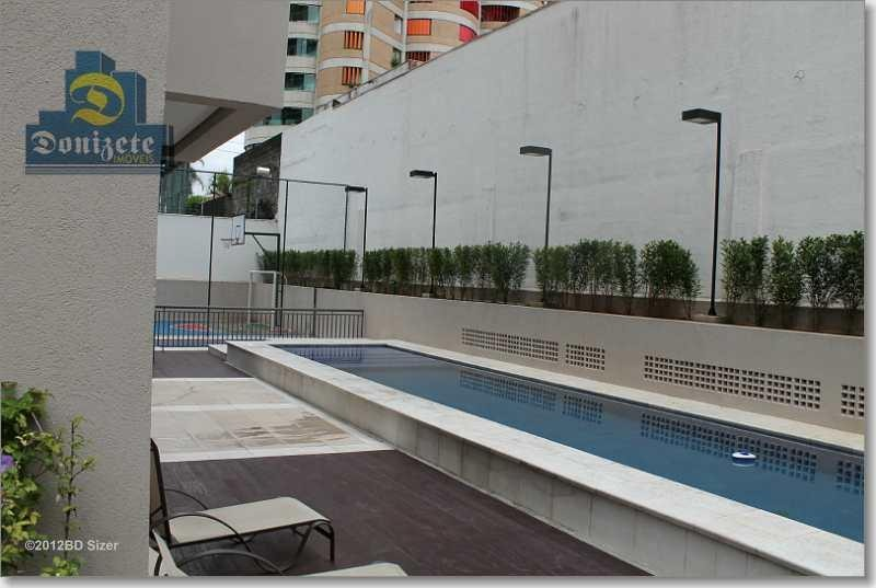 apartamento com 3 dormitórios à venda, 120 m² por r$ 1.100.000,00 - jardim - santo andré/sp - ap4566