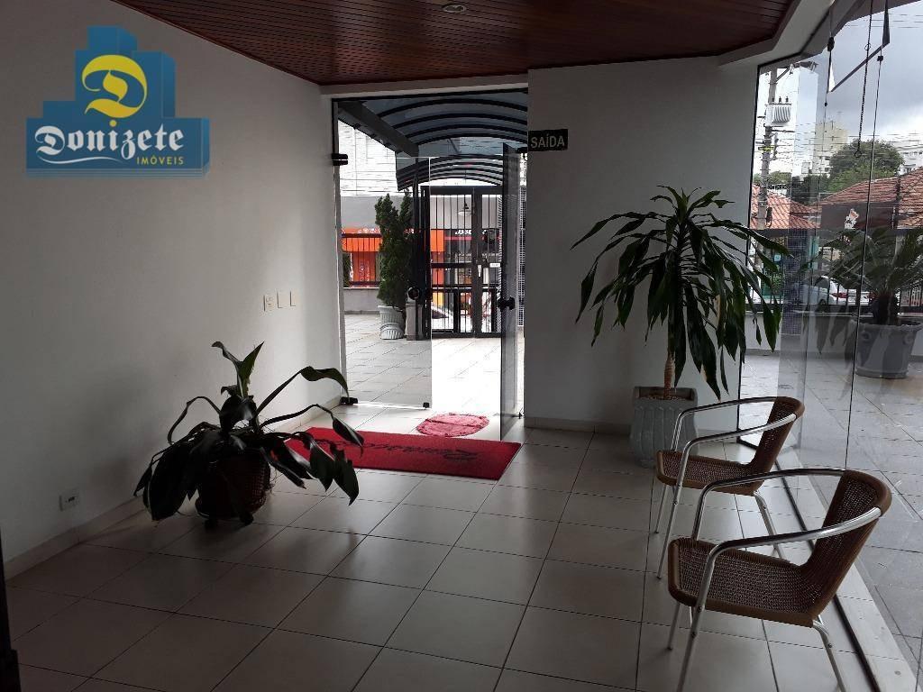 apartamento com 3 dormitórios à venda, 120 m² por r$ 429.000,01 - vila assunção - santo andré/sp - ap7599