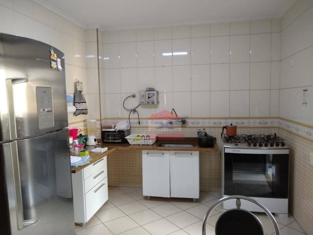 apartamento com 3 dormitórios à venda, 120 m² por r$ 450.000 - centro (são roque) - são roque/sp - ap0168
