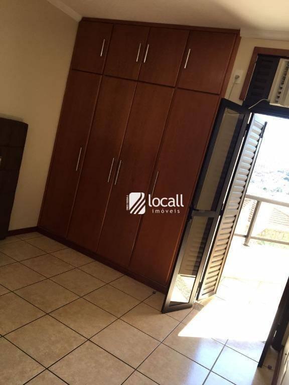 apartamento com 3 dormitórios à venda, 120 m² por r$ 550.000 - vila imperial - são josé do rio preto/sp - ap1848