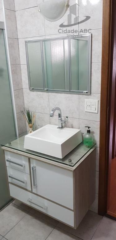 apartamento com 3 dormitórios à venda, 120 m² por r$ 585.000 - vila bastos - santo andré/sp - ap1168
