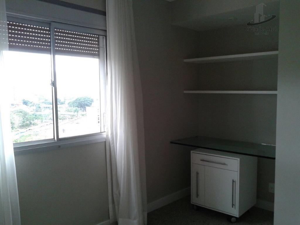 apartamento com 3 dormitórios à venda, 120 m² por r$ 598.000 - vila bastos - santo andré/sp - ap1166