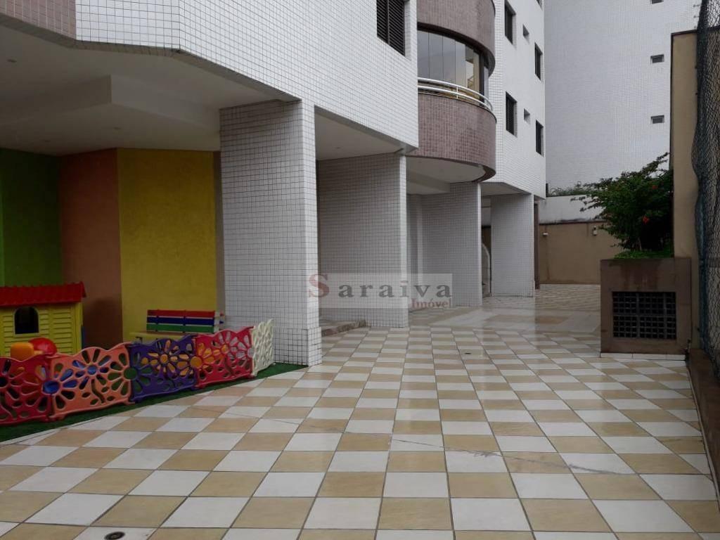 apartamento com 3 dormitórios à venda, 120 m² por r$ 700.000 - barcelona - são caetano do sul/sp - ap1412