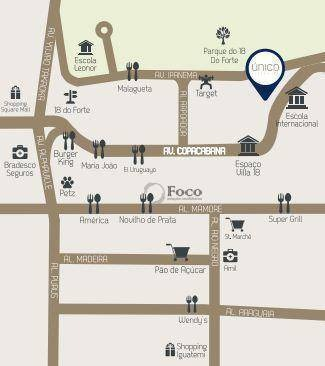 apartamento com 3 dormitórios à venda, 120 m² por r$ 924.140 - empresarial 18 do forte - barueri/sp - ap0865